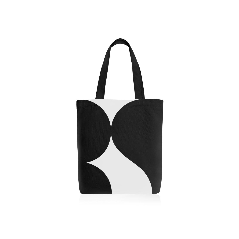 กระเป๋าผ้าออกแบบด้วยโลโก้ใหม่ RS